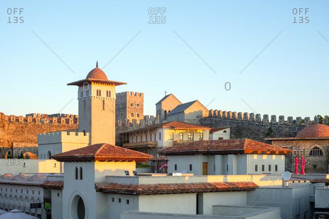 Georgia, Samtskhe-Javakheti, Akhaltsikhe - May 28, 2019: Rabati Castle