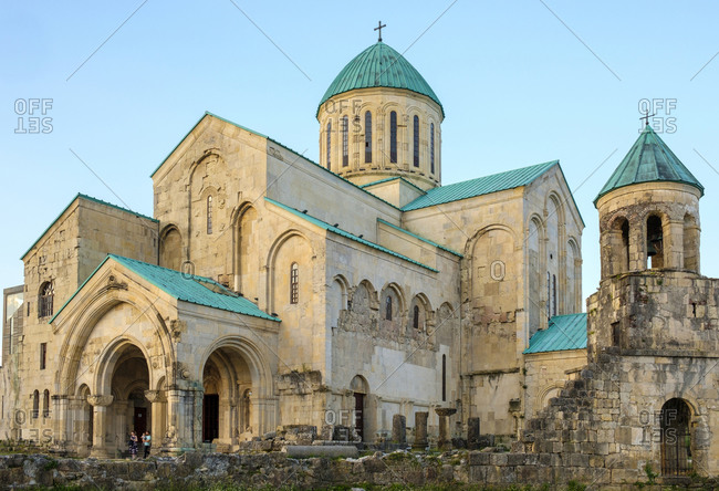 Georgia, Imereti, Kutaisi - June 1, 2019: Bagrati Cathedral