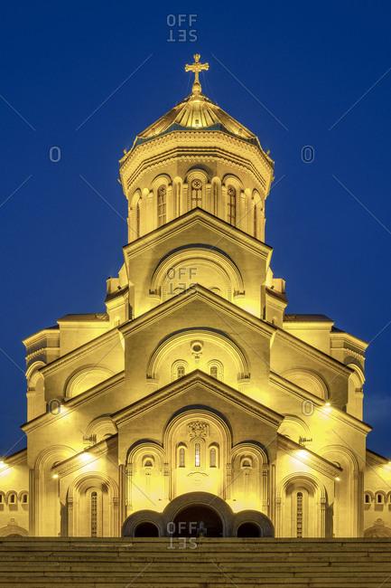 Holy Trinity Cathedral, Tbilisi (Tiflis), Georgia.