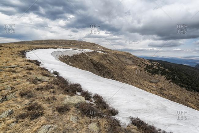 Snowy Landscape in the Pecos Wilderness