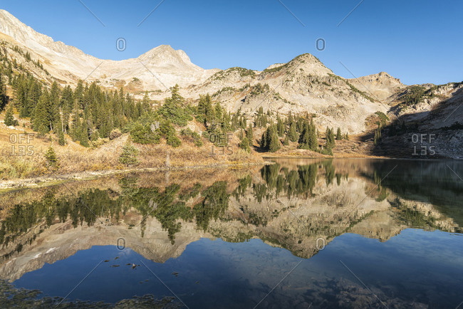Copper Lake in the Maroon Bells-Snowmass Wilderness