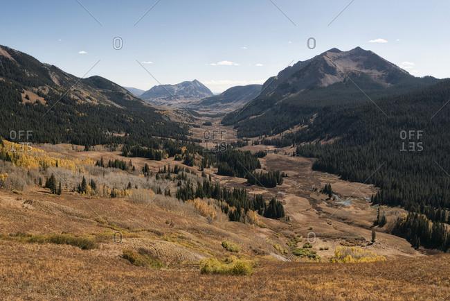 Landscape in the Maroon Bells-Snowmass Wilderness