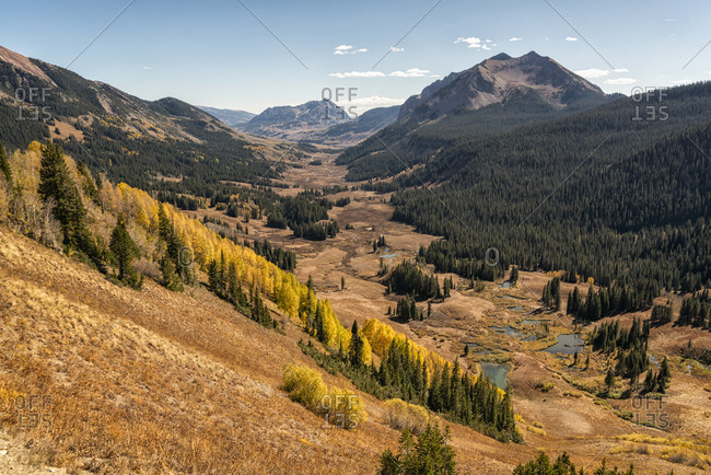 Fall Landscape in the Maroon Bells-Snowmass Wilderness