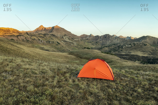Camping in the Maroon Bells-Snowmass Wilderness