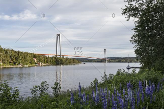 The Hoga Kusten Bridge in Sweden
