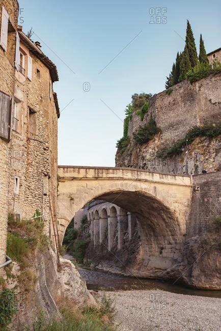 Ancient Roman Bridge at Vaison-la-Romaine, France