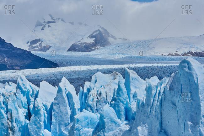 glacier perito moreno in patagonia argentina