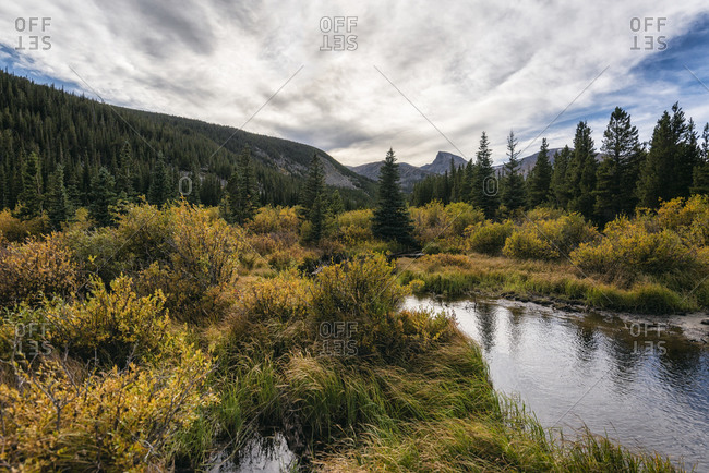Mountain Landscape in the Indian Peaks Wilderness