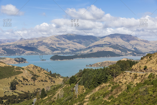 New Zealand- Governors Bay- Scenic view of Thomson Scenic Reserve