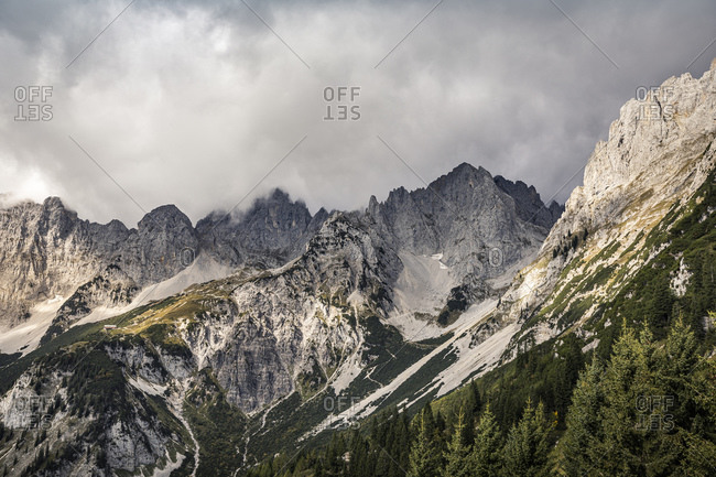 Wilder Kaiser- Kaiser mountains- Tyrol- Austria