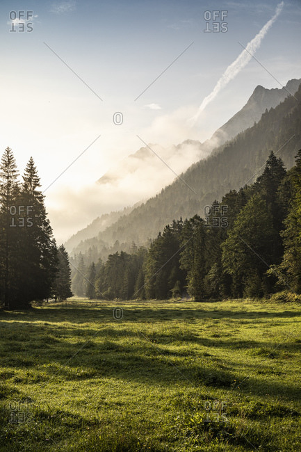 Morning in Riss valley- Hinterriss- Karwendel- Tyrol- Austria