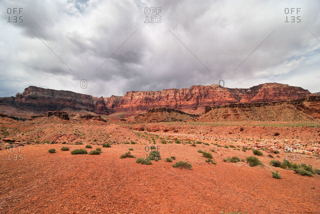 Clouds over Marble Canyon Arizona