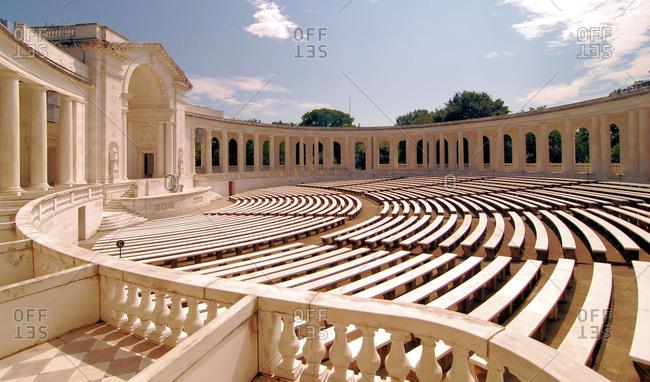 The Arlington Cemetery Amphitheater at the Arlington National Cemetery