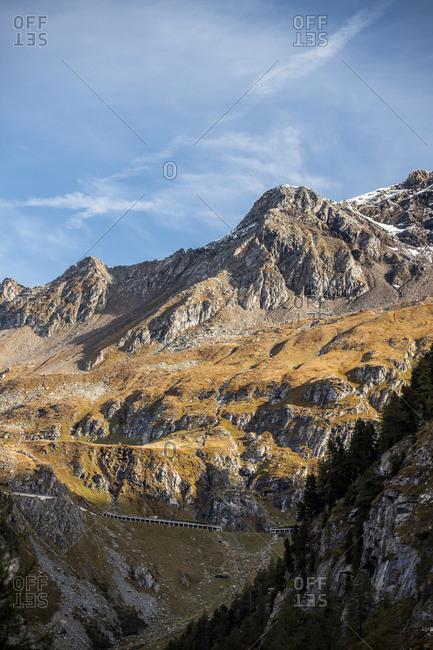 Austria- Carinthia- Molltal Glacier in autumn