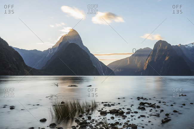 New Zealand- Long exposure of Milford Sound