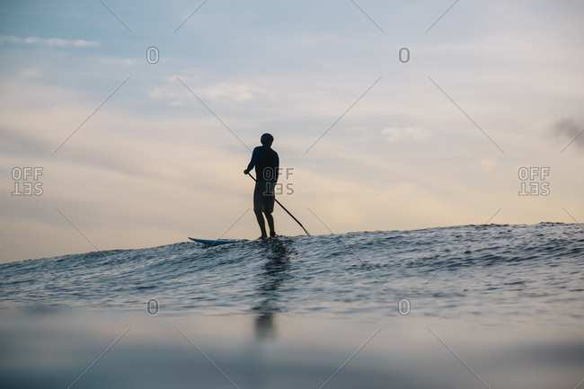 Sup surfer- Bali- Indonesia