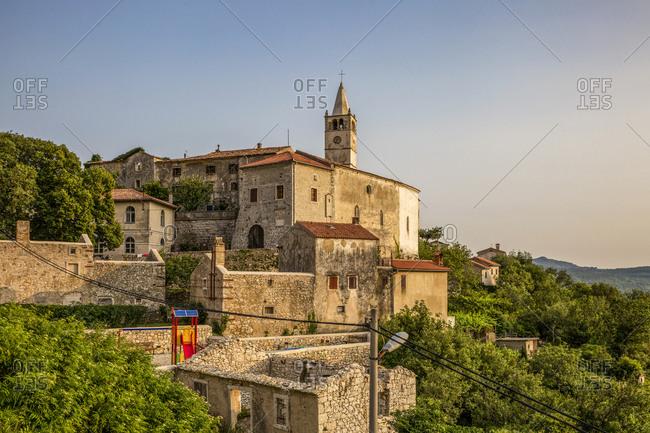 Townscape of Plomin- Istria- Croatia