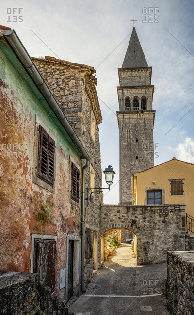 Romanesque church St. Rok in Pican- Istria- Croatia