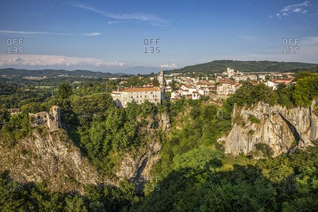 Townscape of Pazin- Istria- Croatia