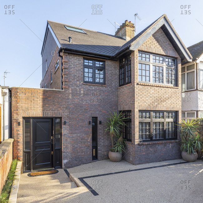 Exterior view of a luxurious property- London- UK