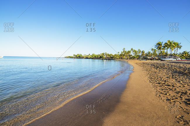 Anaeho'omalu Beach, Big Island, Hawaii, United States of America, North America