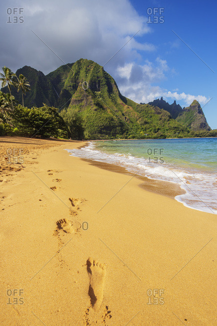 Haena State Park, Kauai Island, Hawaii, United States of America, North America