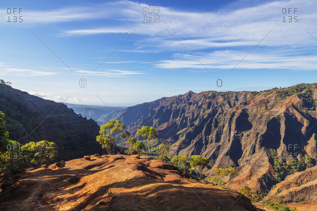 Waimea Canyon State Park, Kauai Island, Hawaii, United States of America, North America