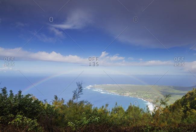 Kaluapapa former Hanson's disease (leper) colony, Molokai Island, Hawaii, United States of America, North America