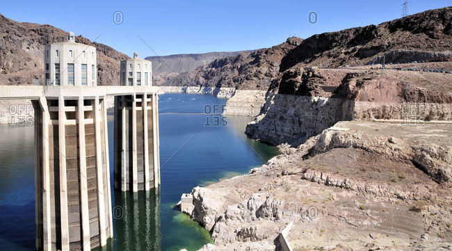 Hoover Dam near Henderson, Nevada