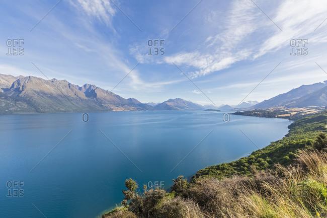 New Zealand- Oceania- South Island- Otago- Lake Wakatipu