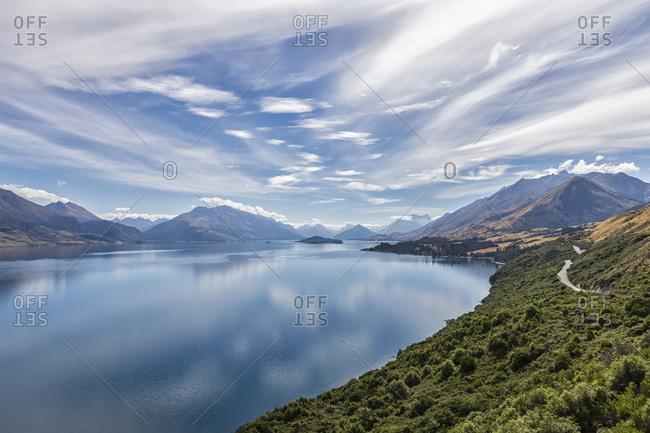 New Zealand- Oceania- South Island- Otago- New Zealand Alps- Lake Wakatipu