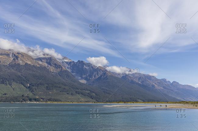 New Zealand- Oceania- South Island- Otago- New Zealand Alps- Glenorchy- Lake Wakatipu