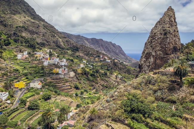 Spain- La Gomera- Hermigua- Roques de San Pedro