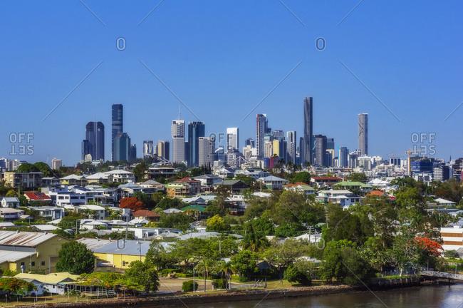 December 18, 2019: Australia- Queensland- Brisbane- City skyline