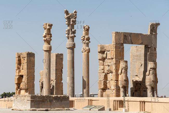 Ruins of Persepolis. Iran