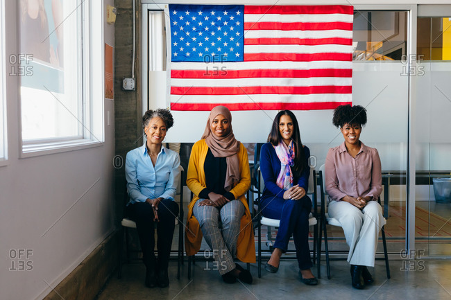 Diverse Portraits of American Citizens