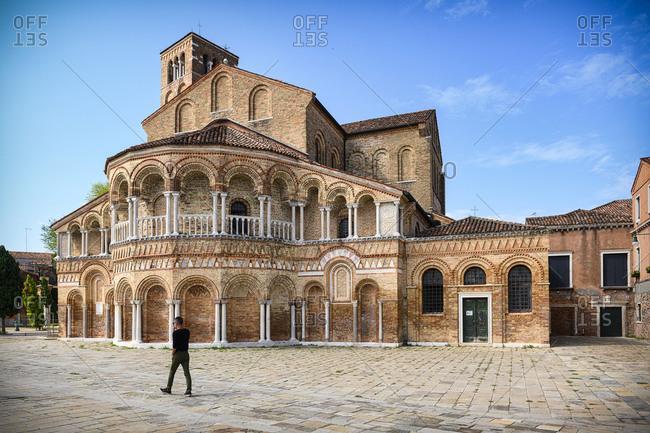 The Basilica of Saint Mary and Saint Donatus in Murano, Venice