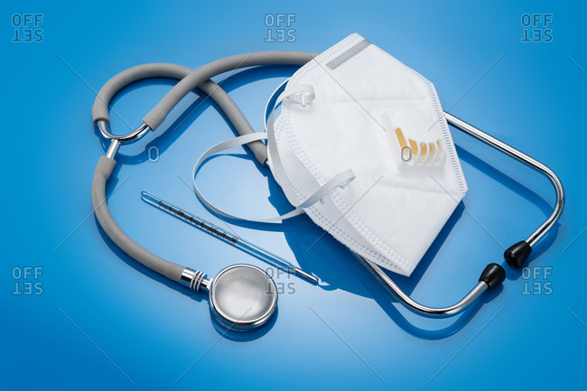 Disposable surgical masks and other medical products