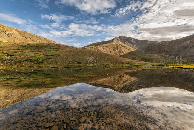 Shelf Lake in the Rocky Mountains, Colorado