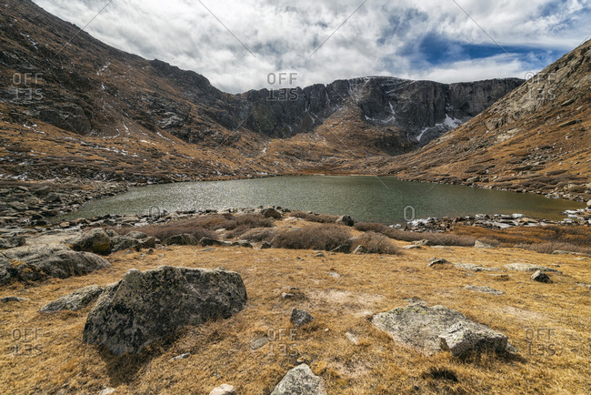 Summit Lake in the Mount Evans Wilderness, Colorado