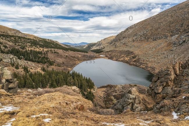 Lower Chicago Lake in the Mount Evans Wilderness, Colorado
