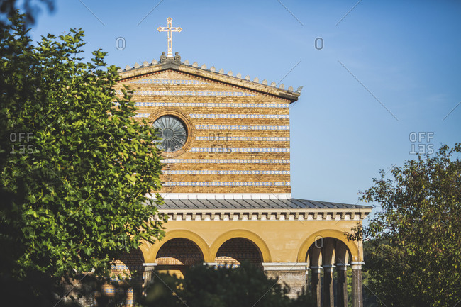 Germany- Brandenburg- Potsdam- Exterior of Church of Redeemer