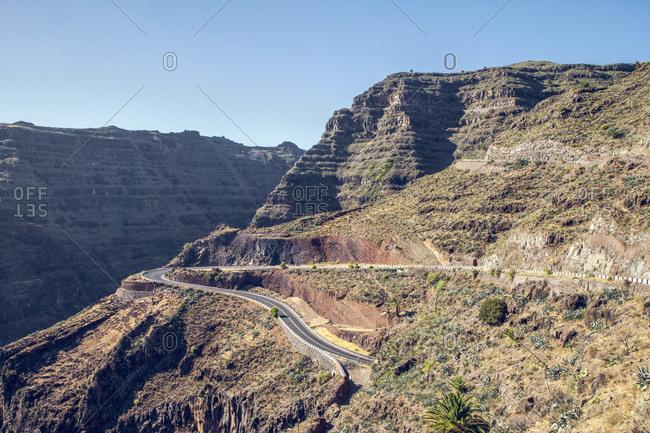 Spain- Canary Islands- Landscape on La Gomera