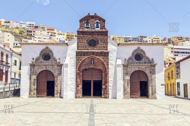 Church of La Nuestra Senora de la Asuncion- San Sebastian de La Gomera- La Gomera- Spain