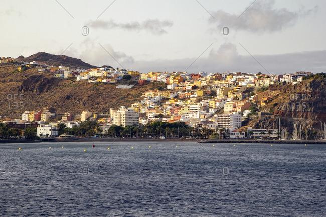 July 21, 2015: View on San Sebastian- La Gomera- Spain