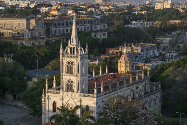 Church Parroquia Del Sagrado Corazon de Jesus- Havana- Cuba