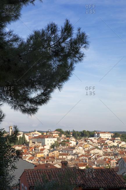 Croatia- Istria- Rovinj- View of the city