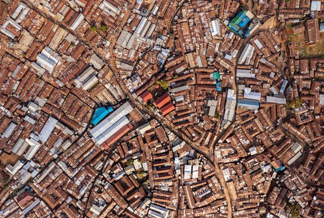 Aerial view of Nairobi, Kenya