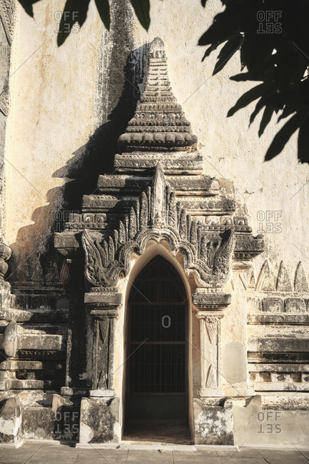 Exterior of Thatbyinnyu Temple in Bagan, Myanmar