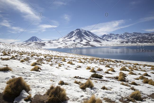 Lagunas Altiplanicas in Atacama desert